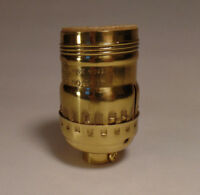 "New 4 1//8/"" Solid Spun Brass Vase Cap Unfinished Brass Lamp Cap 1//8 IP VC628U"