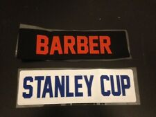 Custom Football Twill Jersey Name Bar - Stitched 2 Color
