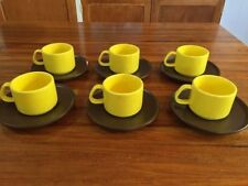 Bone China Vintage/Retro Cups & Saucers
