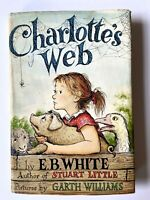 1952 E.B. White Charlotte's Web HCDJ Early Print Near FINE Spider Web End Paper