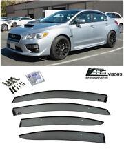 For 2015-Up Subaru Wrx & Sti Jdm Clip-On Style Side Vents Sun Shade Rain Guards (Fits: Subaru)