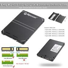B Key M.2 NGFF SSD to 2.5 inch SATA Converter Adapter Enclosure Case Cover Box