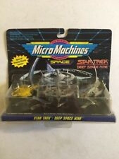 Star Trek DS9 1993 MICRO MACHINES 3 SPACESHIP SET #5
