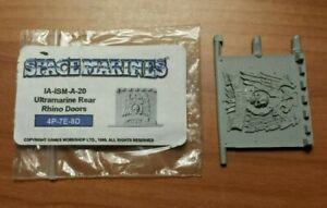 Ultramarines Rhino Rear Door warhammer space marine forge world