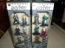 10 Harry Potter Nano Metalfigs 5 Pack set JADA TOYS Die Cast 4 Exclusive Figures