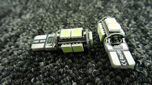 ROVER CAR LIGHT BULBS LED ERROR FREE CANBUS 9 SMD XENON WHITE W5W 501 SIDE