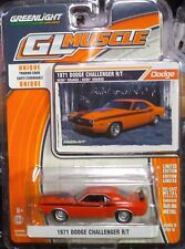 Green Light GLMuscle *Series 13 1971 Dodge Challenger R/T Ships World Wide