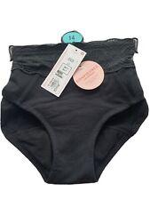 M&S Anti-Leak Cotton & Lace Low Rise Shorts