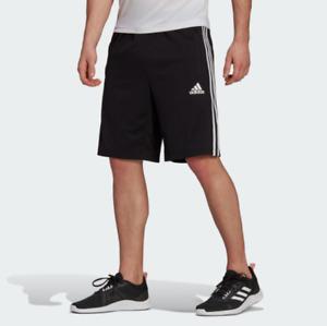 adidas Men's Training Designed 2 Move 3-Stripes Primeblue Shorts