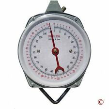 1 X 110 lb. Hanging Spring Kitchen Dial Scale by Pit Bull, New, Free Shipping