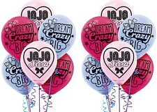JoJo Siwa Latex Balloons ~ Kids & Girls Birthday Party Decoration Supplies ~12ct