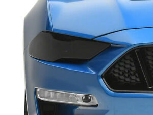 SpeedForm Headlight Covers; Smoked - Ford Mustang 2018-2020 GT/EB S550