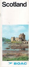 More details for boac scotland airline brochure 1967