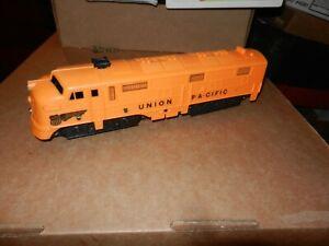 MARX  Union Pacific Diesel A Unit, Powered, Plastic, Original