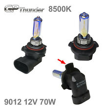 GP Thunder 8500K 9012 HIR2 PX22d 70W Blue White Xenon Halogen Light Bulbs Pair