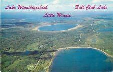 Aerial View Of Lake Winnibigoshish~Little Winnie And Ball Club~Minnesota~60s~PC
