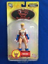 2008 DC Direct Batman/Superman Vengeance 2 Power Girl Series 5 MOC