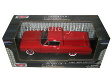 MOTORMAX 79321 1960 FORD RANCHERO PICK UP TRUCK 1/24 DIECAST MODEL CAR RED