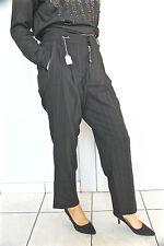 pantalon large laine noire et dorée HIGH USE T 40-42 NEUF ÉTIQUETTE val 350€