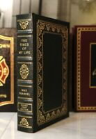 TIMES OF MY LIFE - Easton Press - MAX FRANKEL  🖋SIGNED 1ST ED🖋  WWII