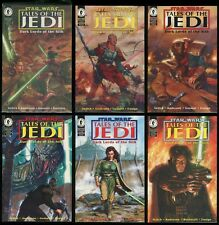 Star Wars Tales of the Jedi Dark Lords of the Sith Comic Set 1-2-3-4-5-6 Lot