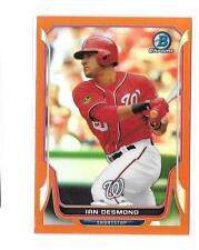 2014 Bowman Chrome IAN DESMOND orange Refractor Nationals 08/25!!