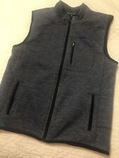 Johnnie-O Boys Size 12 Fall Blue Vest