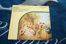 MOZART STRING QUINTET IN C MAJOR UK LP ARGO ZK 17, THE AEOLIAN QUARTET