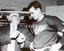 GORDIE HOWE  Classic Hockey Photos GHPC7