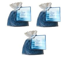 BOLES D'OLOR Set Of 3 Scented Sachet Bag of Aroma Pearls Fragrance Deep Blue