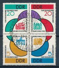 Ungeprüfte Briefmarken aus Deutschland (ab 1945) als Satz mit Sonderstempel