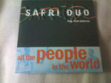 SAFRI DUO - ALL THE PEOPLE IN THE WORLD - 2003 CD SINGLE