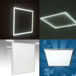 600 x 600 LED Panel 40W Recessed Edge Lit Suspended Ceiling Cool White Light