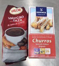 Spanish Churros Mix 500G + Valor Chocolate  500g Hot Chocolate & Donuts