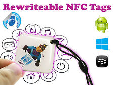 Gadget Hero's Rewritable Programmable NFC Tag Waterproof Keychain. ( 1 Piece )