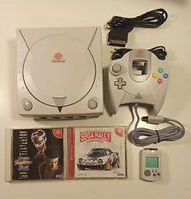 Sega Dreamcast JAP (220v) + pad + vmu + sega rally 🚙 + Virtua Fighter 3tb 🕶️