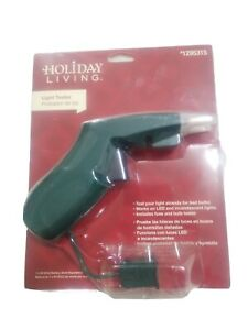 NEW Holiday Living Christmas Lights Tester Repair Tool For LED / Incandescent