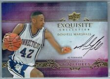 2013-14 EXQUISITE COLLECTION EXQUISITE SIGNATURES #ESDM DONYELL MARSHALL #17/65