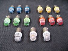 15 Assorted LED Domes Instrument Panel Dashboard Lights Bulbs BA9S 53 1815 Chevy