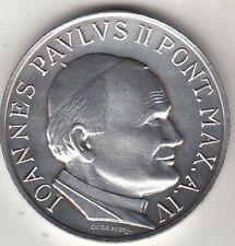 Medaglia GIOVANNI PAOLO II Meeting Amicizia fra i Popoli 1982 Argento