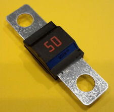 EZGO 50 AMP FUSE # 28106G01 FOR 36 VOLT POWERWISE GOLF CART CHARGER