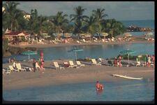 068002 Beach Along La Grande Baie Gosier Guadeloupe A4 Photo Print