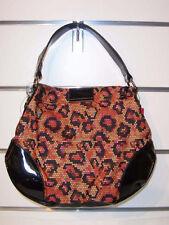Betseyville Small Hobo Orange NWT Digital Love Handbag