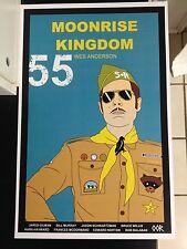 Moonrise Kingdom movie poster print