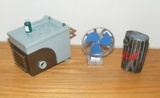 3 - Marvel  Accessories For Wrestling Figures - Garbage Can Fan Cart - FOR PARTS