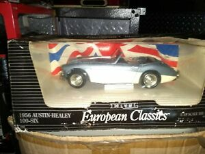 Ertl 1961 Austin Healey 1/18 Scale Diecast Model in box