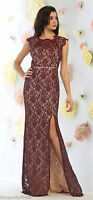SALE ! NEW MODERN MOTHER of the BRIDE GROOM GOWN FORMAL EVENING DRESS UNDER $100