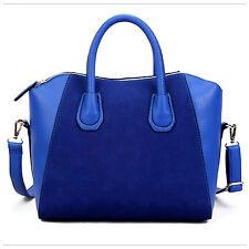 Womens Designer Large Leather & Suede Style Tote Shoulder Bag Handbag Vincenza