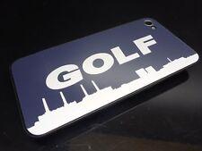VW Golf Backcover mit Aufkleber für iPhone 4 ORIGINAL VW Emblem Logo