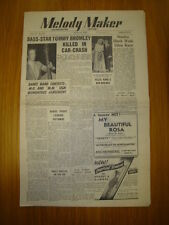 MELODY MAKER 1947 #723 JAZZ SWING TOMMY BROMLEY RIP